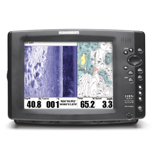 combin sondeur gps humminbird 1197 csi occasion. Black Bedroom Furniture Sets. Home Design Ideas